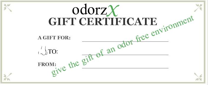 odorzx Gift Certificate