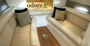 odorzx boat cabin odor removal