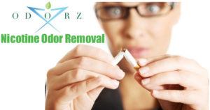 Nicotine Odor Removal